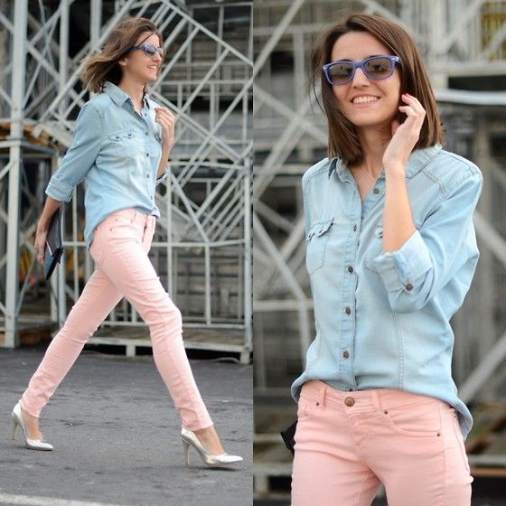 Outfits con Rosa