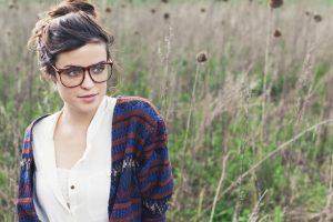 Look para las chicas que usan lentes