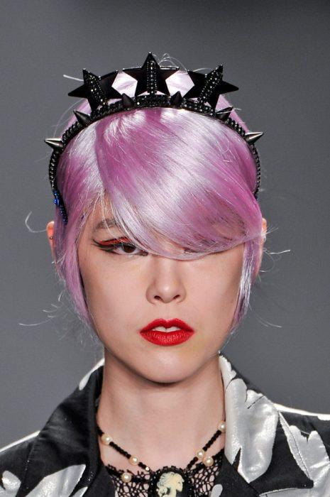 diadema de princesa punk