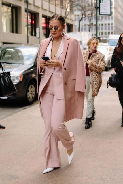 pastels suit