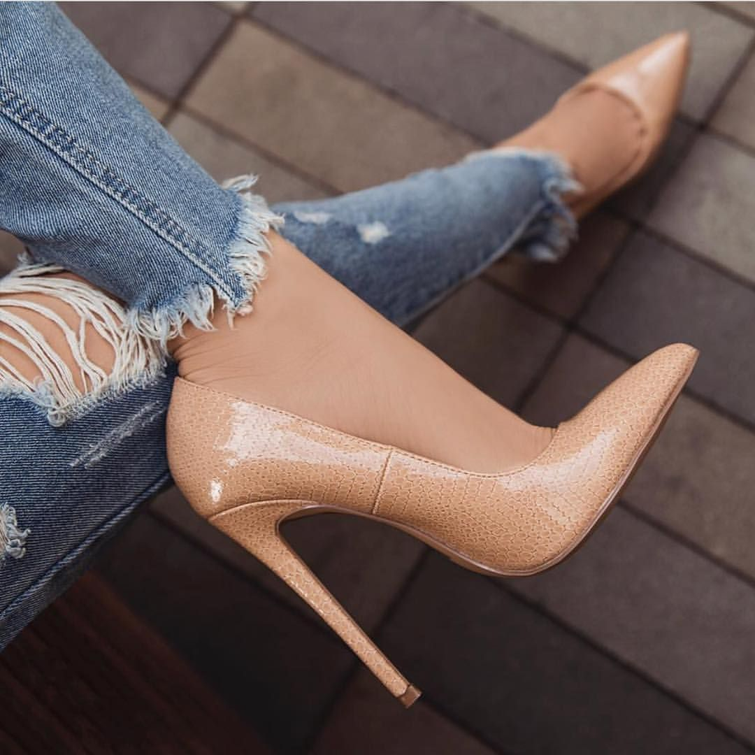 Zapatos en color nude