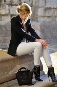 Outfits Blanco y Negro que te Encantarán