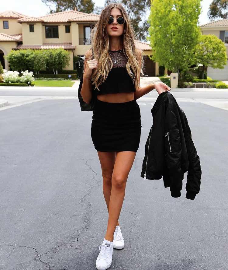 Cómo lucir el color Negro en tus Outfits sin verte Aburrida