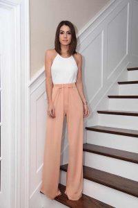Outfits con Pantalones Palazzo de Moda