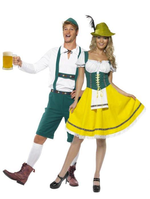 alemanes disfraz pareja