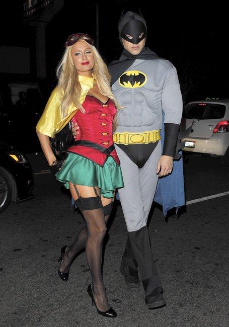batichica y batman disfraz pareja