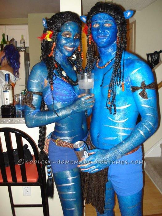 avatar disfraz pareja