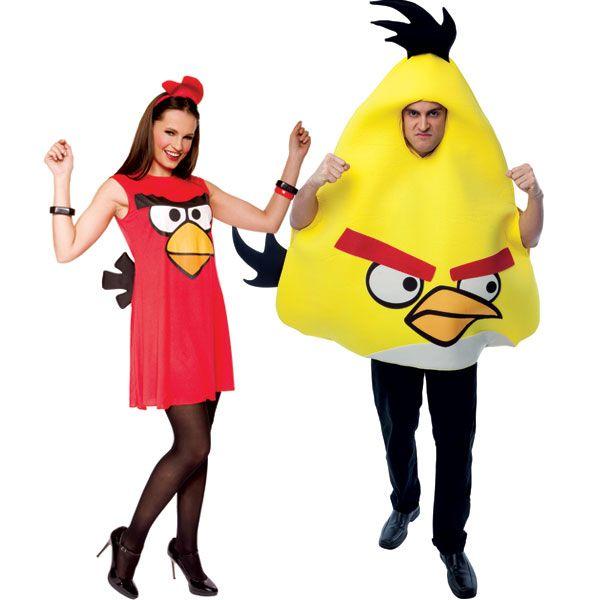angry birds disfraz pareja