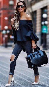 15 Estilos de zapatos que son el match perfecto para tus jeans rotos
