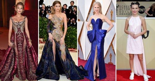 Los mejores 21 looks de famosas en alfombras rojas del 2018
