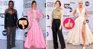 Las 10 celebridades mejor y peor vestidas de los premios SAG Awards 2019