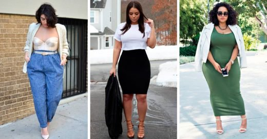 Outfits para chicas talla curvy que atraparán miradas
