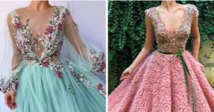 Diseñadora de modas crea hermosos vestidos que parecen sacados de cuentos de hadas