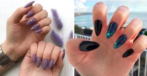 15 Diseños de uñas almendra