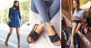 15 Lindos estilos de sandalias para reemplazar tus tenis este verano