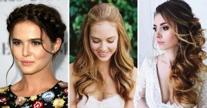 13 Ideas de peinados harán lucir el escote de tu vestido