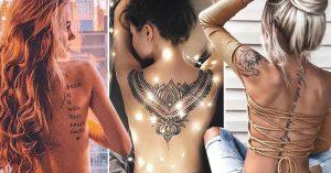 39 Mejores Tatuajes en la Espalda que te harán lucir Impactante