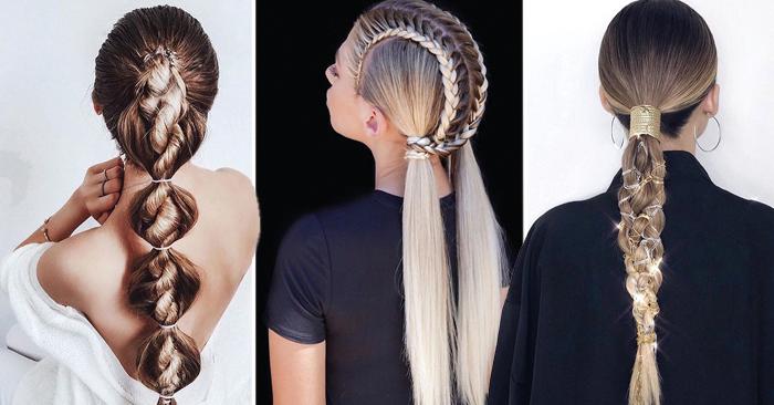 47 Peinados con Trenzas de Moda que te Encantarán (2019)
