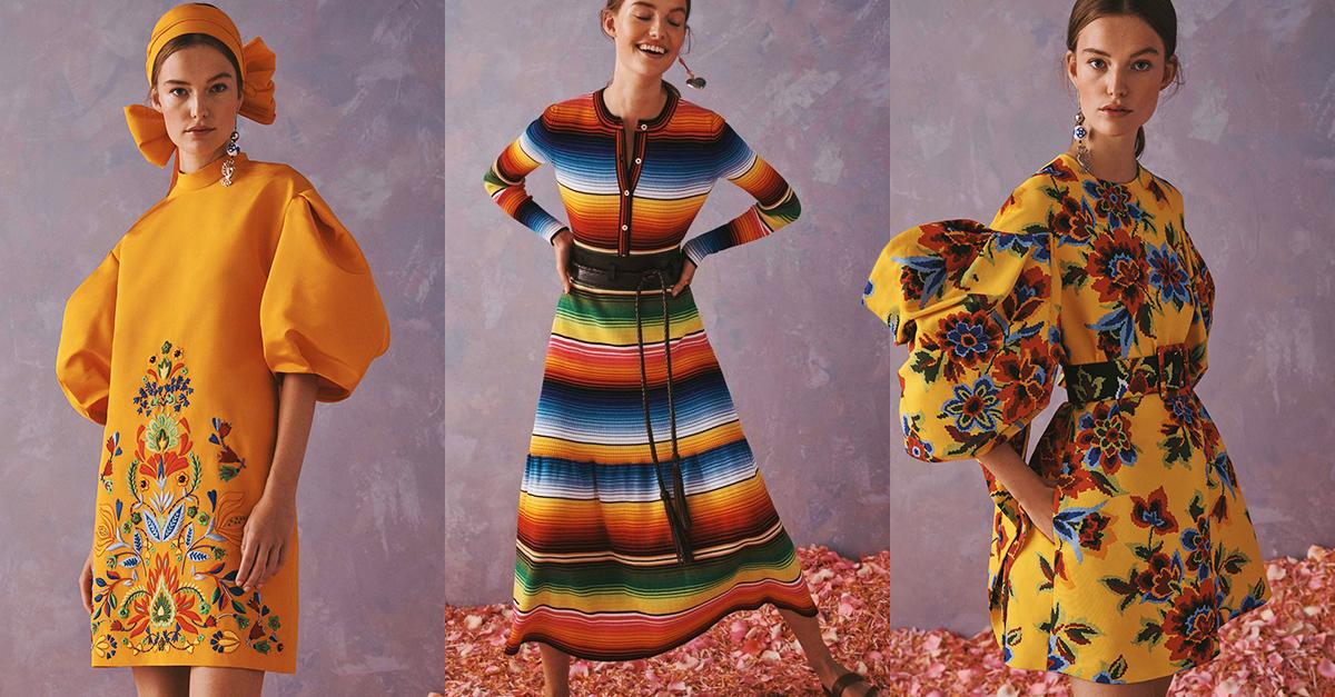 Carolina Herrera crea una colección inspirada en México