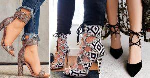 Estos son los zapatos que causarán la envidia de tus amigas
