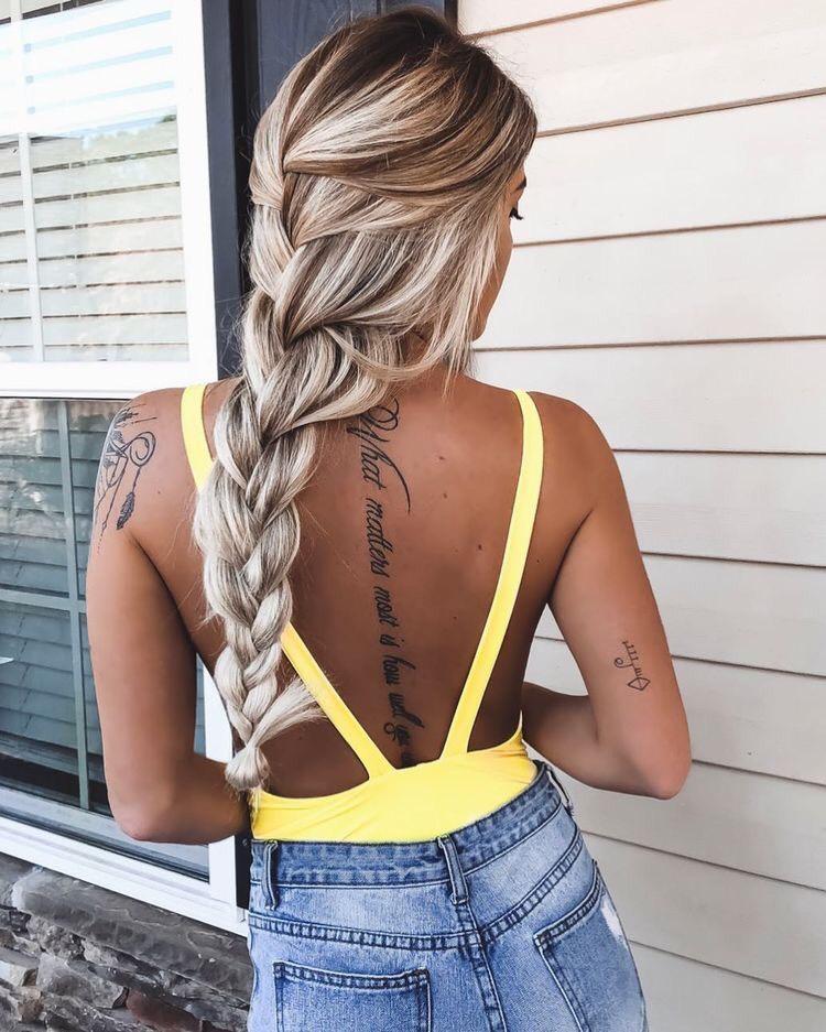 39 Mejores Tatuajes En La Espalda Que Te Harán Lucir