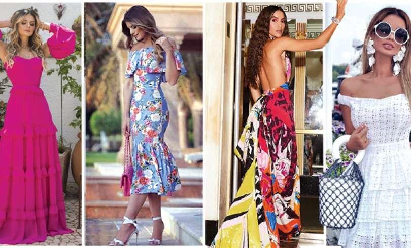 53+ Vestidos Casuales Largos y Midi de Moda (2019)