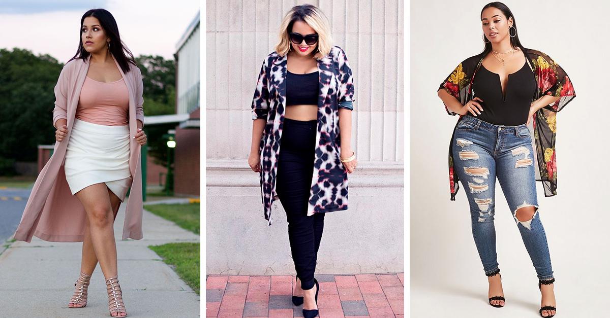 10 outfits para chicas plus size para lucir esta primavera