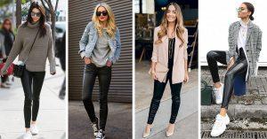 13 Ideas que mejoraran tu atuendo de fiesta usando leggings