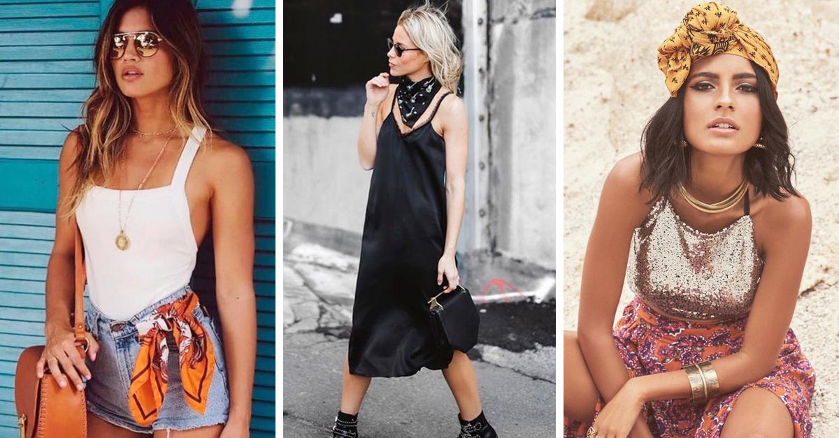 13 Maneras de usar un pañuelo para ser la envidia de todas