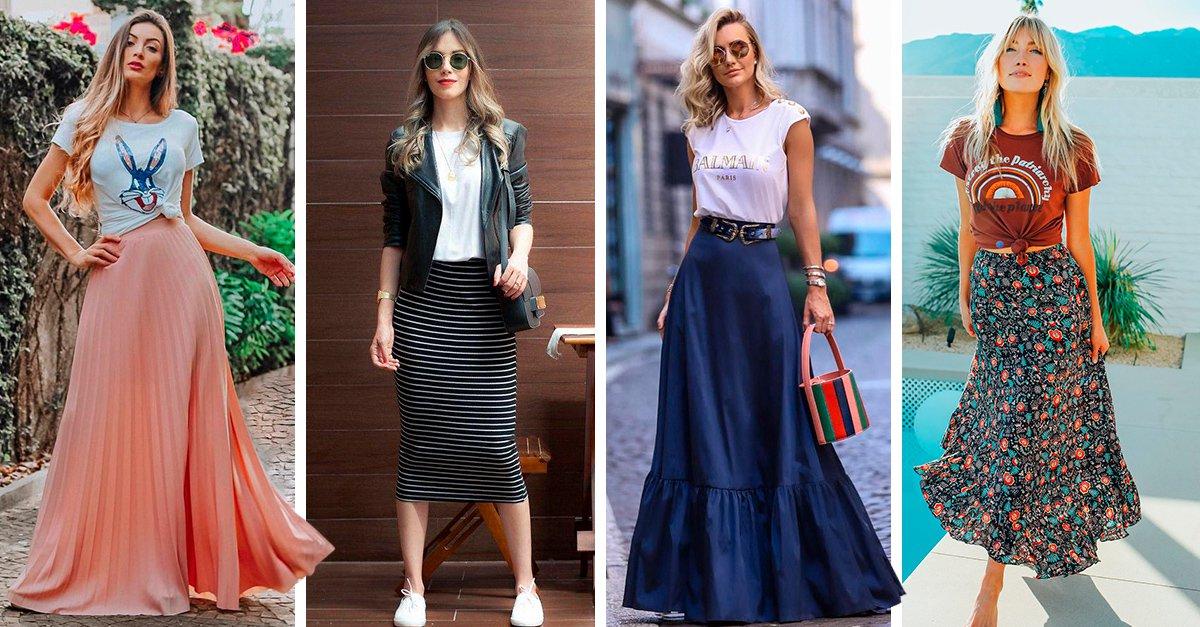 15 Ideas de outfits que te inspiraran a usar falda en calor