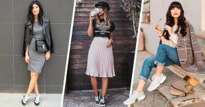 15 Outfits para las que odian los tacones y aman los tenis