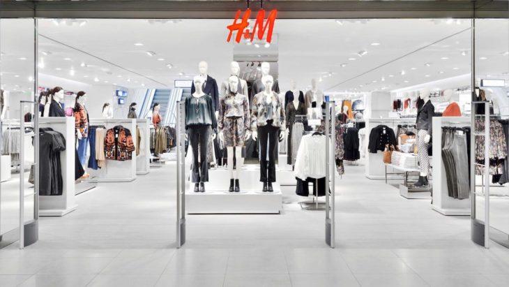 entrada de una tienda de H&M
