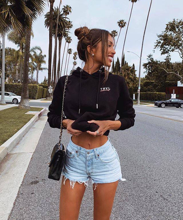 Outfits con Short de Jean