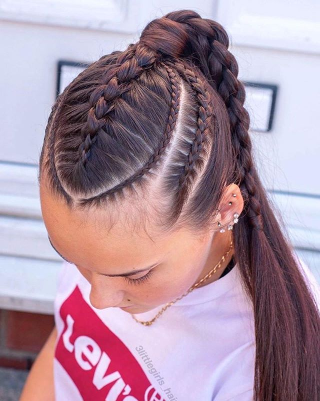 Instrucciones peinados casual Imagen de cortes de pelo estilo - 44+ Ideas de Peinados Juveniles que te Encantarán (2019 ...