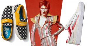 Vans lanzá una colección de calzado inspirado en David Bowie