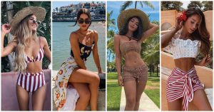 49+ Outfits para ir a la Playa o la Piscina sin perder el Glamour (2019)