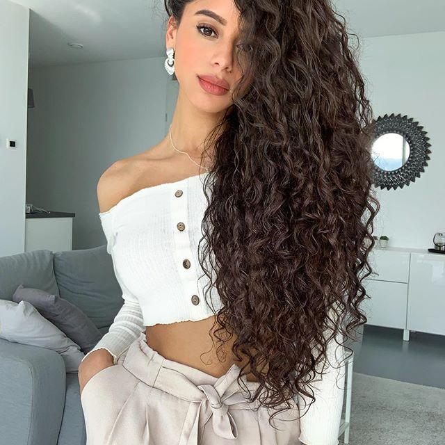 Imagen perfecta peinados con rulos Fotos de cortes de pelo estilo - 29+ Sorprendentes Peinados con Rulos que Desearás Tener ...