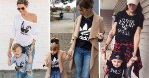 20 Ideas para combinar outfits con tus pequeños amores