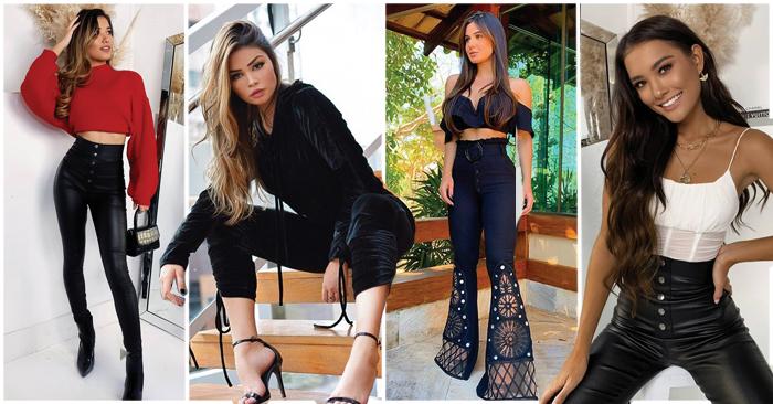 41+ Outfits de Moda con Pantalón Negro (2019)