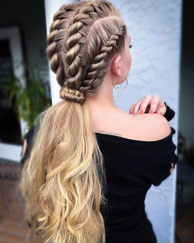 Clásico y sencillo peinados niño pelo largo Fotos de tutoriales de color de pelo - 49 Peinados con Trenzas de Moda para Chicas de Cabello ...
