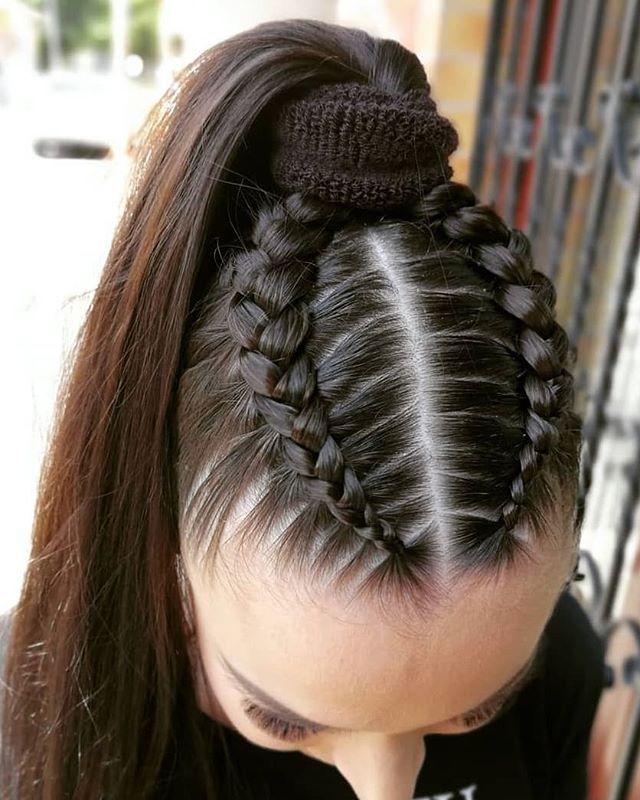 Super dulce peinados pelos largos Fotos de los cortes de pelo de las tendencias - 49 Peinados con Trenzas de Moda para Chicas de Cabello ...