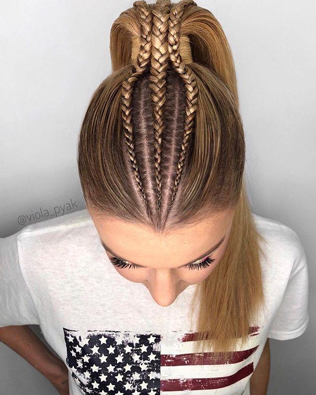 Acogedor peinados de trenzas Colección De Consejos De Color De Pelo - 49 Peinados con Trenzas de Moda para Chicas de Cabello ...