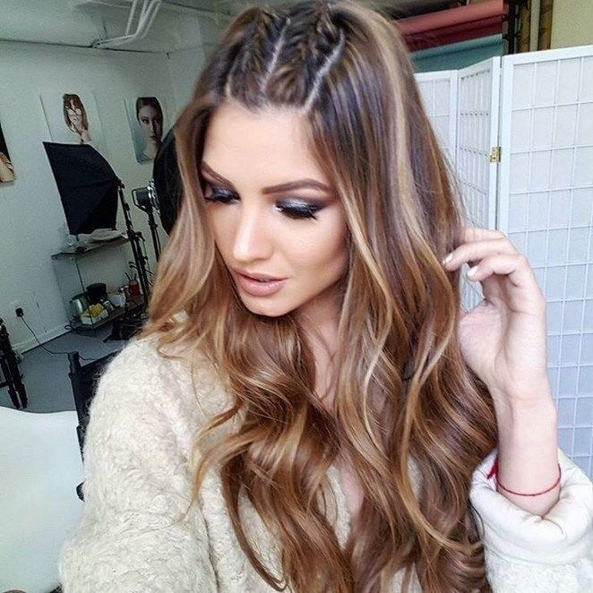 Encantador peinados de pelo largo Colección De Consejos De Color De Pelo - 49 Peinados con Trenzas de Moda para Chicas de Cabello ...