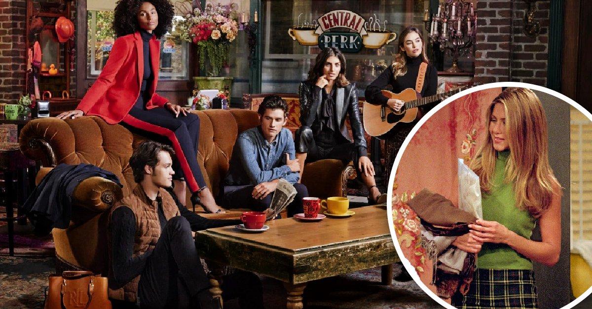 Ralph Lauren lanza colección basada en Rachel de 'Friends'