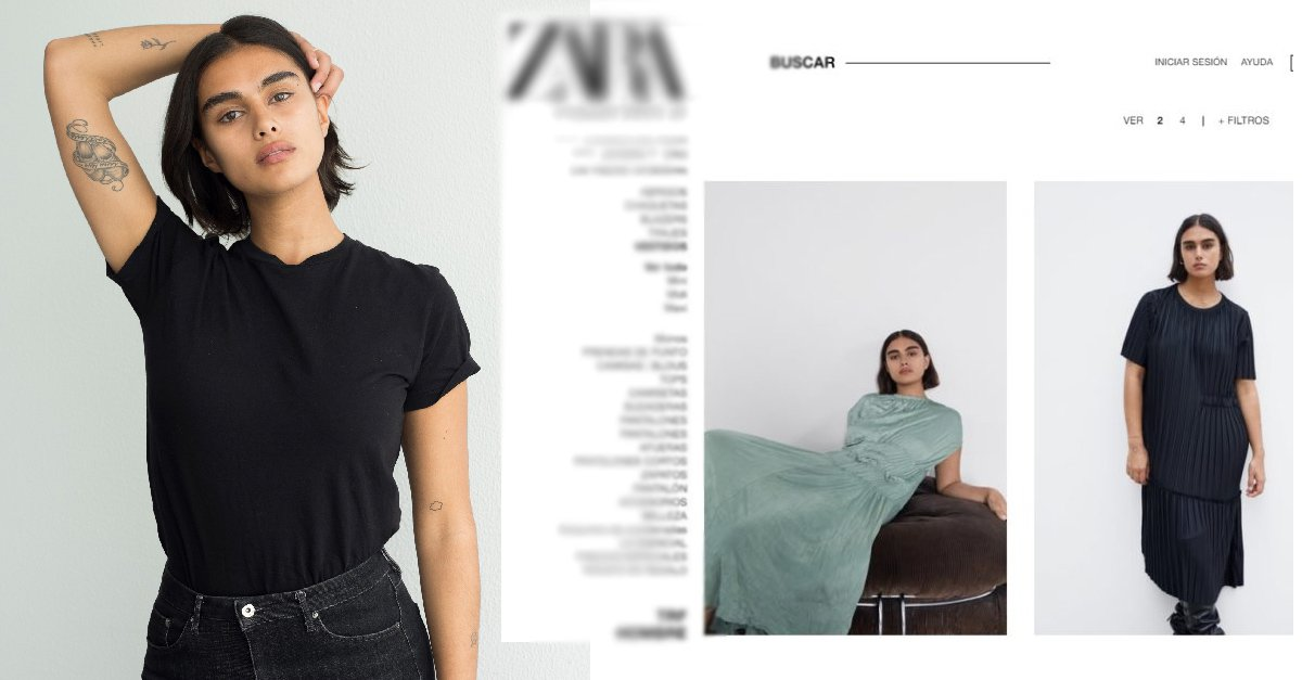 En este momento estás viendo Zara incorpora modelo de talla 'normal' en su catálogo