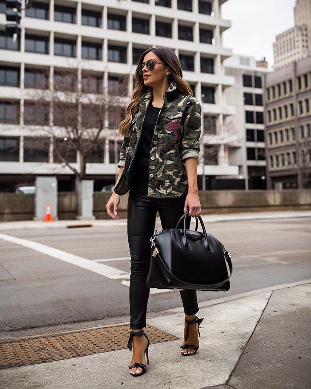 41+ Outfits de Moda con Pantalón Negro (2019) - Moda y Estilo