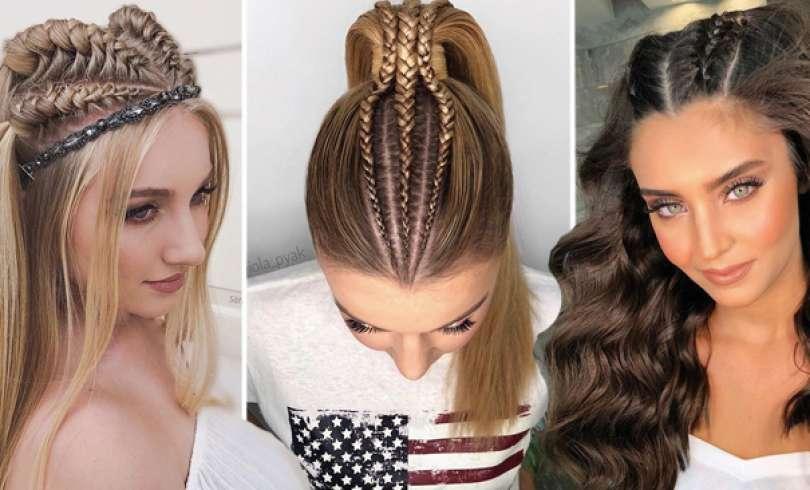 49 Peinados con Trenzas de Moda para Chicas de Cabello Largo
