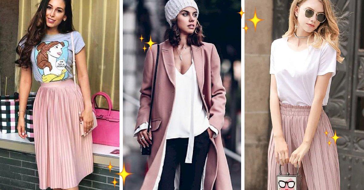 15 Outfits rosa que puedes usar en otoño para verte fabulosa