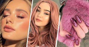 Maquillaje en rosa para verte hermosa y radiante, con estilo