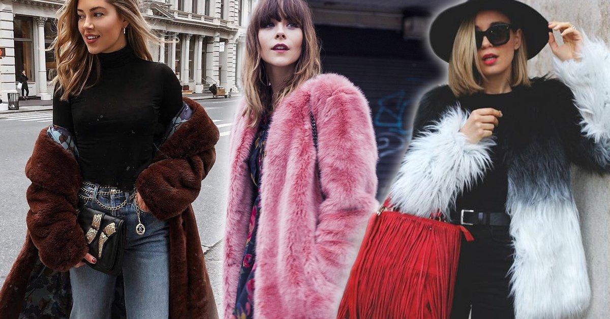 15 lindos abrigos afelpados que son más cálidos que tu novio